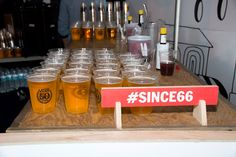 """Guests also sipped beer in branded anniversary cups. The hashtag #since66, alluding to Vans' founding year, appeared on display signage.  Photo: Taylor McIntyre/BizBash  EVENT REPORT See How Vans Celebrated Its 50th Anniversary Around the Globe <p> The March 16 opening-night event took place in 10 international markets, including Kuala Lumpur, <span class=""""st"""">Malaysia</span> (pictured). Held at...ADD TO IDEA BOOK  The March 16 opening-night event took place in 10 international markets…"""