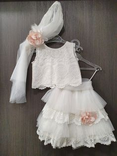 Cute Baby Dresses, Cute Flower Girl Dresses, Girls Party Dress, Little Girl Dresses, Pretty Dresses, Baby Girl Frocks, Frocks For Girls, Fashion Design For Kids, Kids Fashion