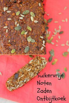 Suikervrije Noten Zaden Ontbijtkoek | De Bakparade