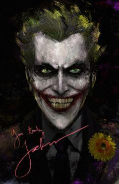 """joker-eruri: """"""""Yours Truly"""" - Joker art by ViceroyPhoenix Joker fan art   Joker tags """""""