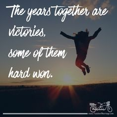 Are you celebrating the victories in your relationship? You should be! #TandemMarriage  #celebrate