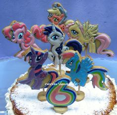 My Little Pony Cake, Sonic The Hedgehog, Cake Decorating, Period, Cookies, Birthday, Party, Design, Crack Crackers