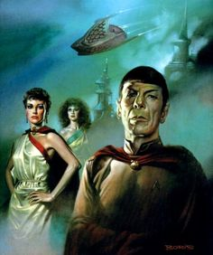 More than 1600 pictures of Boris Vallejo and Julie Bell, a biography and where to find books on internet. Boris Vallejo, Julie Bell, Star Trek Original, Original Art, Star Trek Tos, Star Wars, Jordi Bernet, 3d Chalk Art, Art 3d