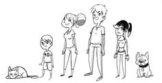 Family Portrait - Sketches