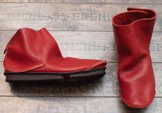 trippen - Modell Ideal rot - Winter 2014 - stilecht - mode für frauen mit format...