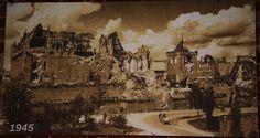 Zamek w Malborku po wojnie, rok 1945