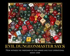 Evil Dungeon Master Says 002
