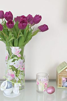Styling the Seasons this month is all about Spring and Easter decor.I can't get enough of longer days, warmer temperatures and tulips in the house. Home Interior Accessories, Own Home, Spring Time, Tulips, Floral Arrangements, Floral Design, March, Seasons, Let It Be