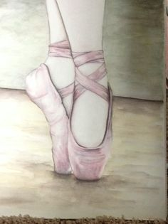 Watercolor, inktense pencils, ballerina, ballet,  nursery art, little girls room Please Like and Share my page.  https://www.facebook.com/nataliemechamart?ref=bookmarks