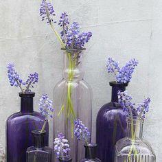 Champagne flower arrangement idea