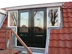 Afbeeldingsresultaat voor dakkapel met openslaande deuren