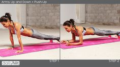 Killer Plank walks!!! (lower from hands to forearm hold, then back up to hands) - I bet you can't get through 10 of these on your first try...
