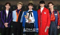 160121 '30th Golden Disk Awards' (Kyung Hee University, Seoul Peace Center) #Shinee #Minho #Taemin