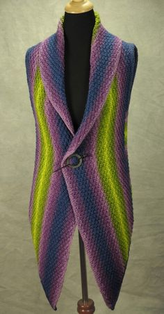 Robin Hunter Designs - - The Deborah Beresford Vest- chrissy- are you asking me to make this for you?