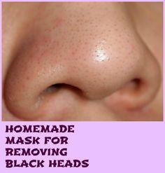 Homemade Mask for Removing Black Heads