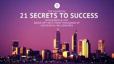 Free 21 Billionaire Secret Habits to Success PDF