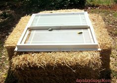 day2day SuperMom: Setting up a Straw Bale Garden ~ PreppDay Wednesday ~ PART 1