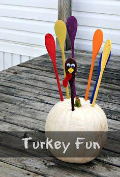 Kate's Kitchen: Turkey pumpkins
