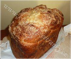1580. citronový mazanec od kvetka.tp - recept pro domácí pekárnu Banana Bread, Food, Lemon, Essen, Meals, Yemek, Eten