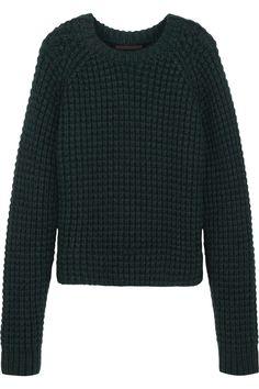 Haider Ackermann|Chunky-knit wool-blend sweater|NET-A-PORTER.COM