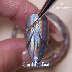 Black Acrylic Nails, Simple Acrylic Nails, Simple Nails, Chrome Nails Designs, Chrome Nail Art, Nail Art Designs Videos, Nail Art Videos, Stylish Nails, Trendy Nails