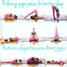 Вечерний йога-комплес для релаксации и хорошего сна: