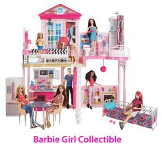 Barbie dream house 2018 structures houses furniture and shops for barbie barbie dream house 2018 black friday