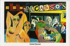 Nighthawks: Cubist Revival