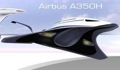 A350H Is A Futuristic Airliner For The Year 2050 By Victor Uribe