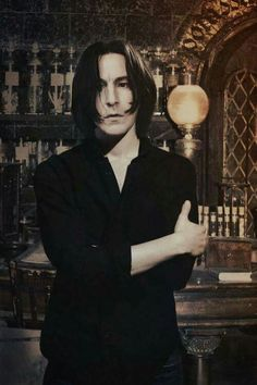 Read Severus Snape from the story Harry Potter ⚡ One-Shots by horxnswife (cici) with reads. Severus Snape Joven, Young Severus Snape, Snape Harry, Harry Potter Severus Snape, Alan Rickman Severus Snape, Severus Rogue, Harry Potter World, Fantasia Harry Potter, Saga Harry Potter
