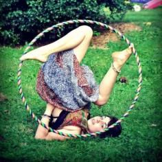 Just Hooping Youre doing it wrong, lady.