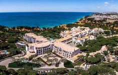 Pine Cliffs Resort celebrates its prime location on the Algarve coastline in everything from the regional cuisine to its signature spa treatments and its connection to the local culture and environment. Visit our website for more information. Hotels In Portugal, Hotel S, Grand Hotel, What Is Healing, Landscape Design, Garden Design, Luxury Spa, Luxury Resorts, Family Resorts