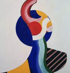 Howard Hodgkin- Mrs Nicholas Monro, 1969, contemporary abstract
