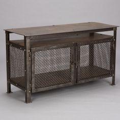 Reclaimed wood industrial cabinet, nightstand,rustic/urban/vintage ...