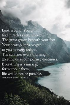 Everything beautiful and spiritual that inspires and touches my soul. Self-reminders on my spiritual journey. Tumblr Quotes, Life Quotes, Qoutes, Life Is Beautiful, Beautiful Words, Colorado Quotes, Prayer Of Thanks, Mountain Quotes, Philosophical Thoughts