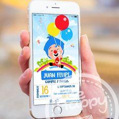 1st Birthday Themes, Circus Birthday, Birthday Decorations, 2nd Birthday, Digital Banner, Digital Invitations, Birthday Invitations, Ideas Para Fiestas, Party In A Box