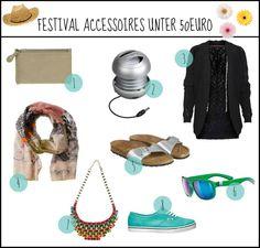Die besten Festival-Accessoires unter 50 Euro #festival #accessories #musthave