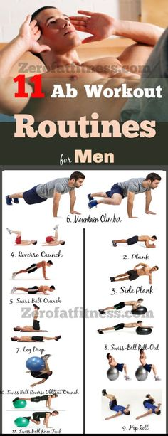 11 Most Effective Ab Workout Routines for Men at Home to Get Six Pack. Belly workout for men. Lose belly fat for men. Tummy workout for men. Home Workout Men, Workout Plan For Men, Workout Routine For Men, Best Ab Workout, At Home Workouts, Crunch Workout, Lower Abs Workout Men, Six Pack Abs Workout, Core Workouts For Men