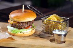 Burger dvouručák  Two-handed Hamburger