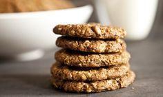 cookies z ovesných vloček a vlašských ořechů x Sweet Desserts, Sweet Recipes, Breakfast Cookies, Oatmeal Cookies, Kid Friendly Meals, Cupcake Recipes, Food Print, Healthy Snacks, Sweet Tooth