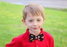 HOT DOGS!!    Funky bow ties from SunFlowerFreckles - use the code PIN10 for 10% off