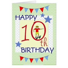 8 Best 10 Year Old Birthday Cards Images
