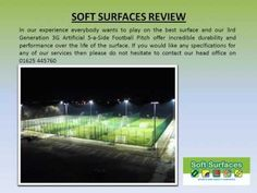 3rd generation synthetic turf 3G artificial grass 5-a-side football pitch