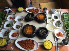 2015.9.23 점심. 한정식