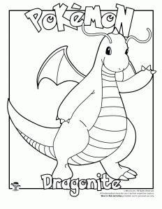 Gengar Pokemon Coloring Pages Sketch Template Dragonite Page