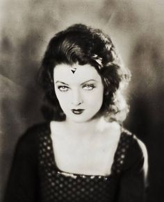 Myrna Loy in Noah's Ark (Warner Brothers, Portrait Photo X Vintage gelatin silver, - Available at 2012 March Dallas Vintage. Old Hollywood, Golden Age Of Hollywood, Hollywood Glamour, Hollywood Stars, Classic Hollywood, Hollywood Icons, Hollywood Celebrities, Classic Actresses, Classic Films