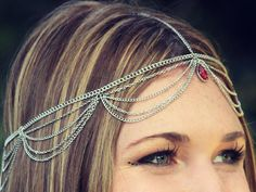 CHAIN HEADPIECE- head chain/ headpiece SALE reg 40