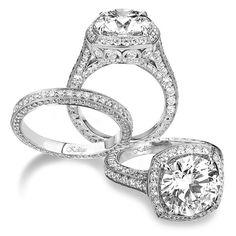 Jack Kelege 375RD,  $9900  Love,  Genesis Diamonds  www.genesisdiamonds.net  #JackKelege #stunning #lovely