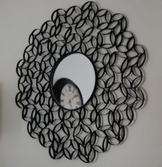 Toilet Paper Roll Mirror