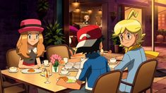 Ash And Misty, Pokemon Ash And Serena, Cute Pokemon Pictures, Micro Lego, Mega Evolution, Boy Art, Disney Characters, Fictional Characters, Disney Princess
